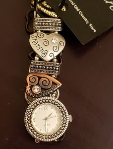 Unique elastic band watch. New With Tags